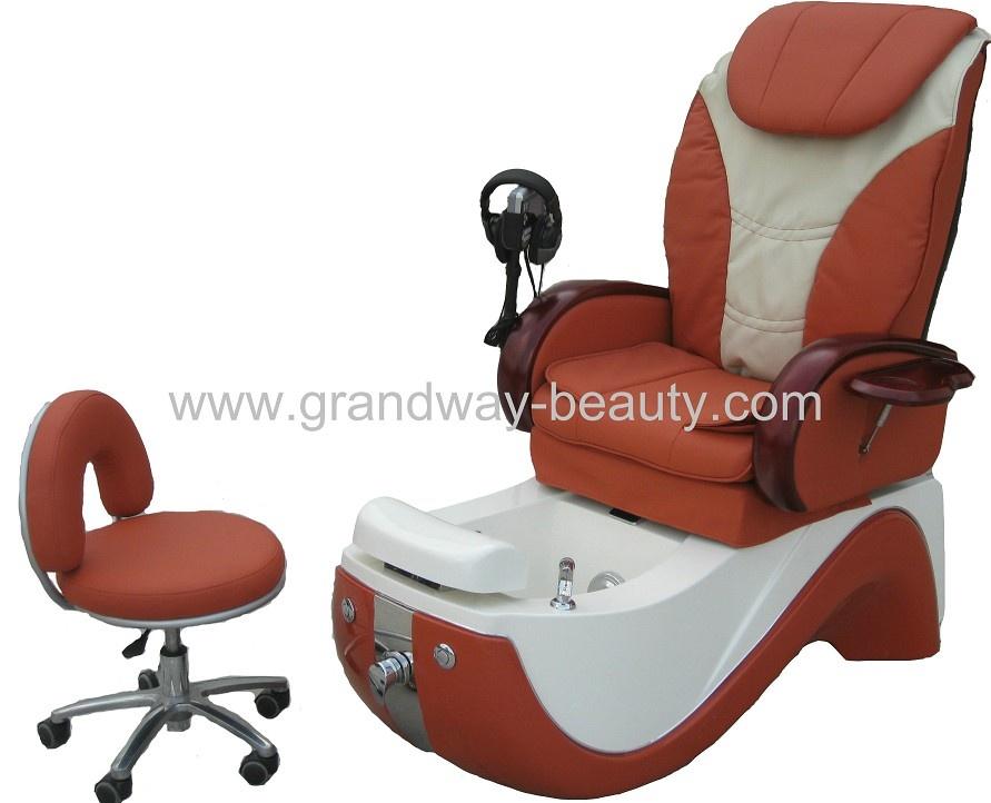Luxury pedicure spa chair salon chair beauty salon equipment for Nail salon equipment
